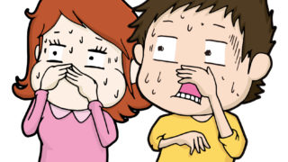 頭が臭い洗い方や食生活に原因があるのかな?