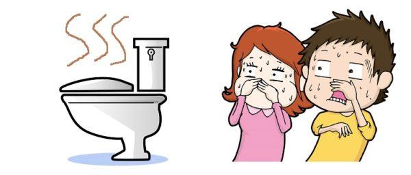 2階のトイレが突然臭う
